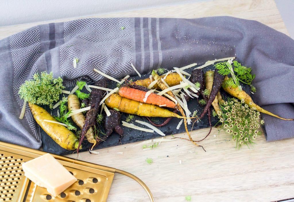 Butter glazed carrots for Thanksgiving
