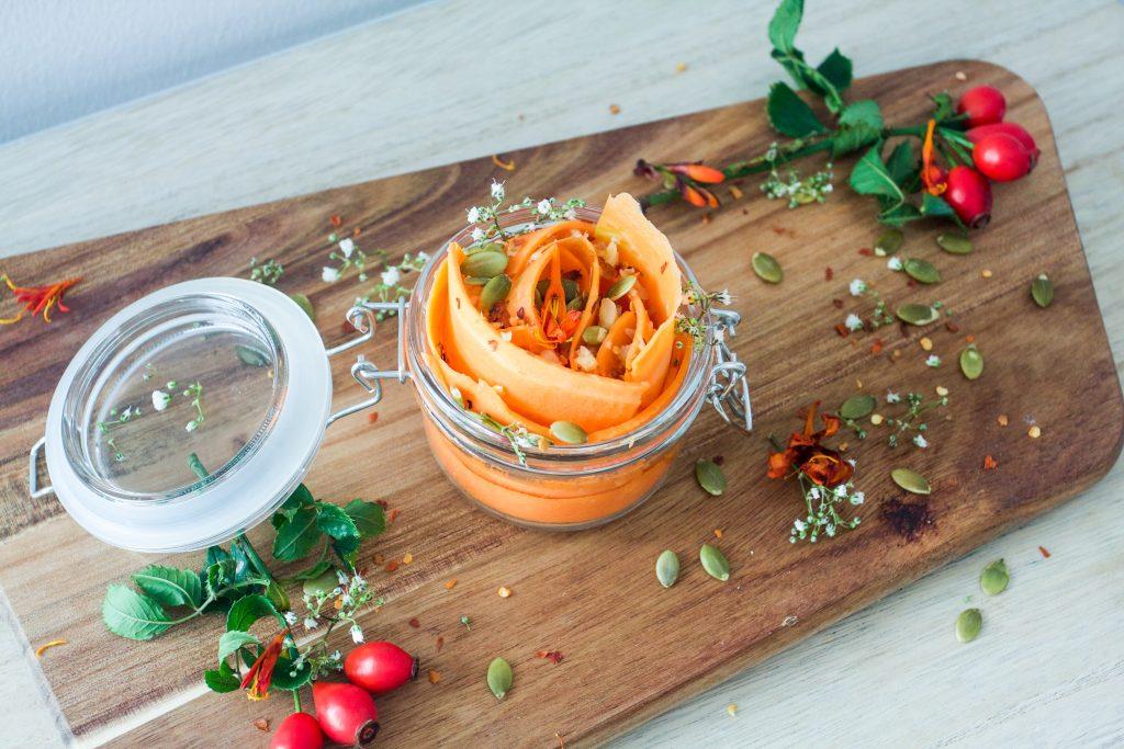 crisp carrot salad