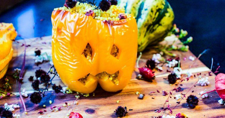 Jack O'Lantern bell peppers