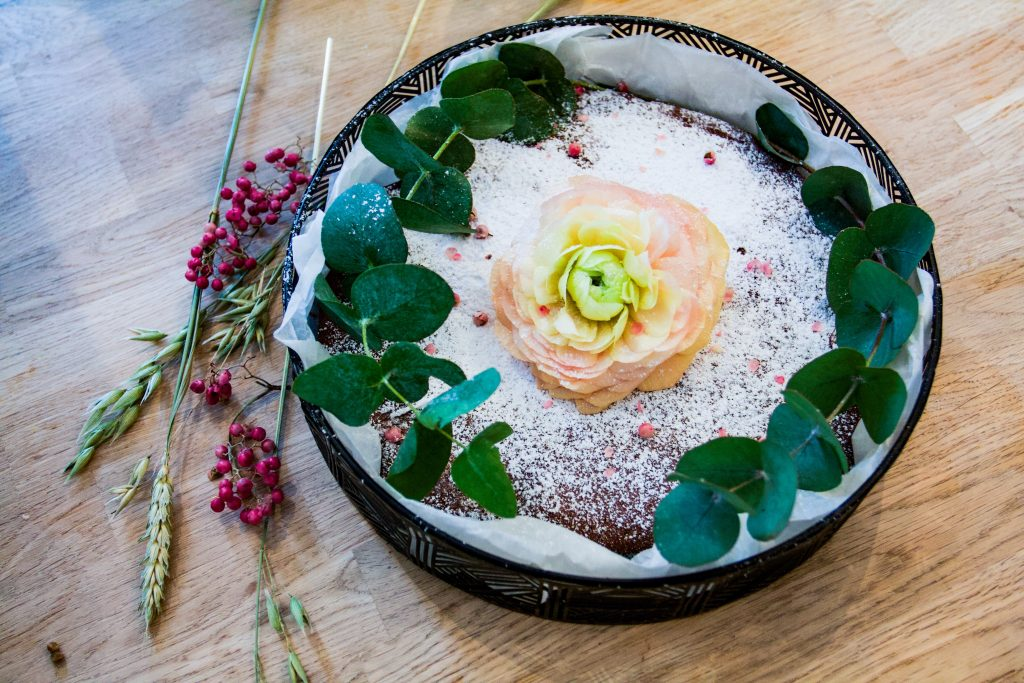 Swedish gingerbread brownie