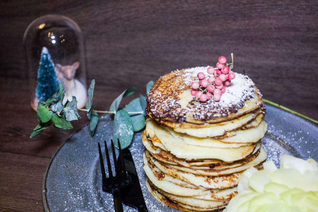 Plättar - thin Swedish pancakes