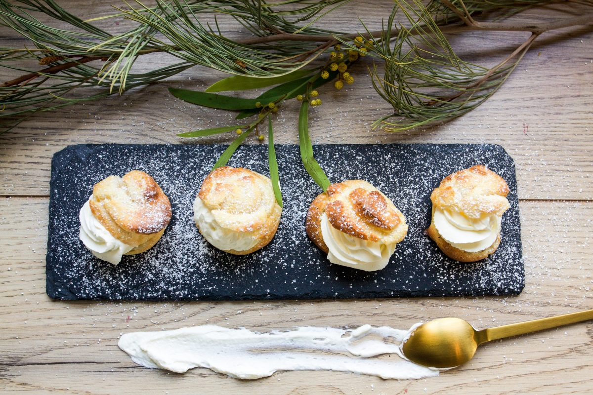 Petit choux Semla – the perfect cream puff