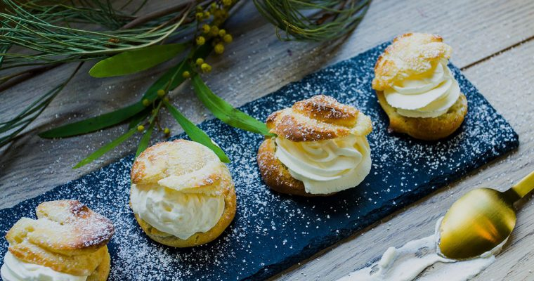 Petit choux Semla – the perfect cream puff