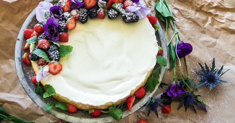 New York Cheesecake – a classic