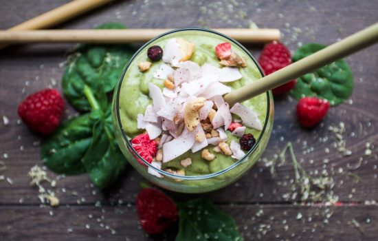 The mean green super smoothie