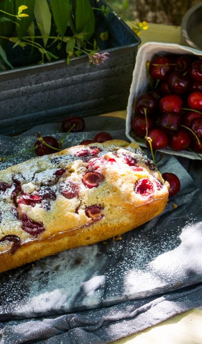 Fresh cherry cake recipe