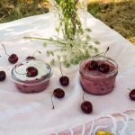 Hungarian chilled cherry soup