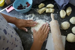 I have created visuals for each step of the way. That way, hopefully, you can make your own Hungarian plum dumplings.