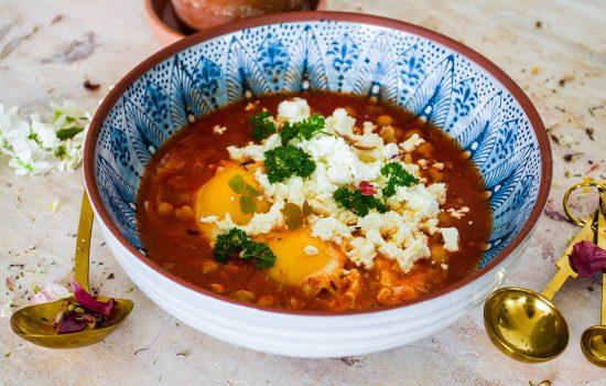 Shakshuka -Middle eastern quick food