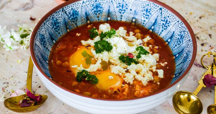 Shakshuka -Middle eastern quick food