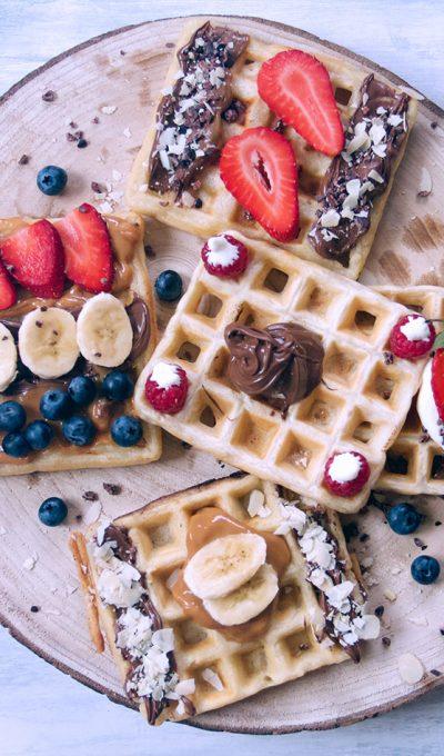 Waffles on waffle's day